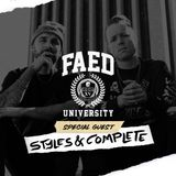 FAED University Episode 54 featuring Styles&Complete - 04.24.19