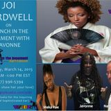 Joi Cardwell visits Brunch In The Basement With JaVonne