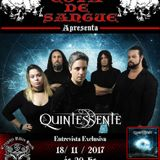 Programa Cova de Sangue - #34 - Entrevista com a banda Quintessente (18.11.2017)