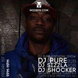 01/02/19 - DJ Pure B2B DJ Sizzla B2B DJ Shocker W/ Guest Mc's (DJ Pure Birthday Show) - Mode FM