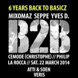 dj Philip @ La Rocca - Back to Basicz 22-03-2014 p2