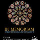 In Memoriam (iNhaLeRT & Spiros Limnaios) - Broadcast of Good Wednesday @Innersound Radio