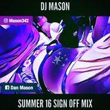 Summer Sign Off Mix 2016