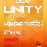 August 28 UNITY @ Oshawa Music Hall