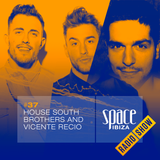House South Brothers and Vicente Recio at Café Olé - September 2014 - Space Ibiza Radio Show #37