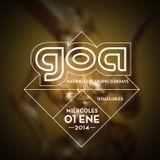 BORDERLINE - GOA NEFERTITI AÑO NUEVO 2014 - 01 / 01 / 2014