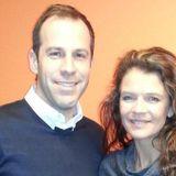 Greg Rusedski and Annabelle Croft on Radio Yorkshire