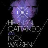 Hernan Cattaneo & Nick Warren - B2B at Harlot, San Francisco (12-05-2013)