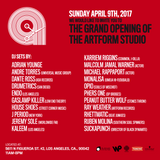 The Grand Opening of The Artform Studio – LIVE BROADCAST (04.09.17) PART ONE