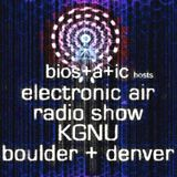 bios+a+ic hosts Electronic Air radio on KGNU, 08-31-2013