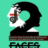 2 Faces - Karim Youssif - Exclusive Deep Techno Mix @ Djsline.com (August-2017)