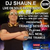 DJ SHAUN E TRANCE SESSIONS LIVE ON SBR 10.03.2018 20:00-22:00