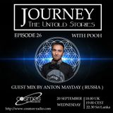 Journey - 26 guest mix by Anton Mayday ( Russia ) on Cosmos Radio [20.09.17]