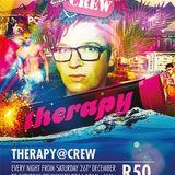 DJ GROOVY Q - Therapy @ Crew