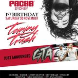 Pacha 1st Birthday  30th Nov 2013 | Glover warm up for Tommy Trash