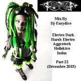 Mix New Electro Dark, Harsh, Hellektro, Indus, Aggrotech Part 22 By Dj-Eurydice (Décembre 2015)