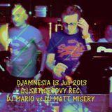 Mario Corleone - Djamnesia Mix 2 live 13 juli 2013 - GROOVY TRAX N°02 -