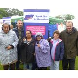 Speak Out Radio Show 2 at Chiswick Green Days June 2016