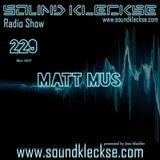 Sound Kleckse Radio Show 0229 - Matt Mus