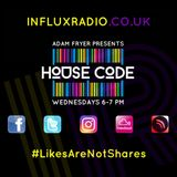 HouseCode Radio Show on InfluxRadio 02.08.17