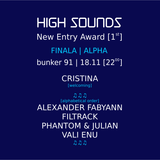 FiLTRACK @ high sounds [ new entry ] award 1st edition FINAL STAGE