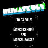 Marco Kehring B2B Marcel Balser - @ Heimatkult Marburg 11.03.2018