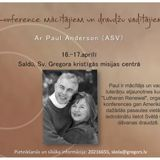 Paul Anderson seminārs