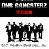 XtronX - Gangsterz Beatz (live @DNB Gangsterz at Le Détour - 17-11-2012)