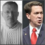 Author Ryan S Walters and Mississippi State Senator Chris McDaniel