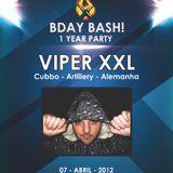 07.04.2012 - Viper XXL @ Fuel Techno Pt- 1st B-day Bash - Stressless - Portugal