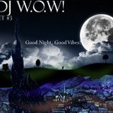 DJ W.O.W! - Set #3 (Good night, good vibes!) {2.009}