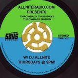 DJ Allnite Presents: The DJ Allnite Show-1st Throwback of 2015!