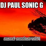 DJ PAUL SONIC G playing SUNSET Sessions vol.14