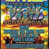 Happedaze, MJ Project B2B Lozza, All Day Party, Old School 90's Set, Varsity, Sunderland 28/08/2016
