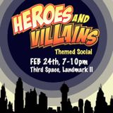 Heroes and Villains promo minimix