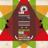 """Cultural Bass"" Reggae Radio Show #11 ft. Lion King Dub On radio Fly Foot Selecta  04.12.2012"