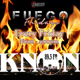 DJ Eddie G - Fuego Fridays Live Mix April 11th 2014 On KNON 89.3fm