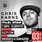 Chris Karns - MikiDz Show - 6/3/2013