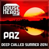 Paz - Deep Chilled Summer CD 85 - (HouseHeadsRadio Promo)