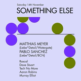 Pablo Sanchez @ Something Else - Sydney, November 14th 2015