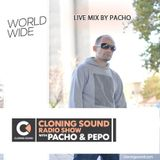 Live Mix by Pacho on Cloning Sound radio show :: episode #153