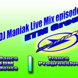 DJ Maniak Live Mix episode 11 (12.12.2014)