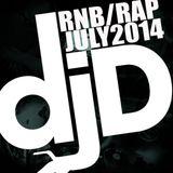 Dj Derezon - RnB/Rap July 2014 - Mix