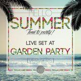 Live @ Garden Party Verviers