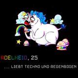 Einhorndame Adelheid sucht einen Techno-Regenbogen. [~132bpm]