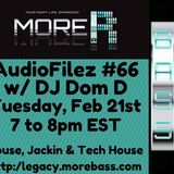 MoreBass 2-21-16 AudioFilez #66