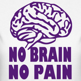 No Brain, No Pain
