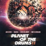 DanjaOne live @ Planet Of The Drums, Monarch Theater, 1/18/2014  ***3 DECK MADNESS***