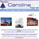 Radio Caroline North 87.7. The final programme
