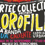 Le Cumbianche Disco set @ Clorofila Feria Int. del Libro Oax Nov 2010
